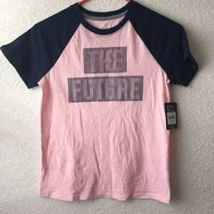 Girls S/S Pink T-Shirt The Future Is Bright